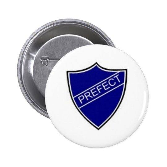 Prefect Badge Blue Button