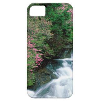 Prefectura de Tochigi de la cascada Nikko Japón iPhone 5 Case-Mate Coberturas
