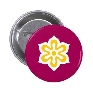 prefectura país-región Kyoto de la bandera de Japó Pin