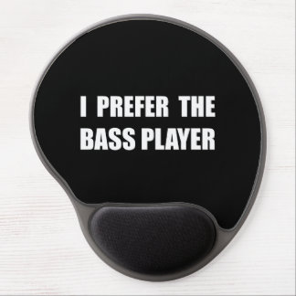 Prefer Bass Player Gel Mouse Pad