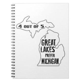 Prefer Michigan Notebook