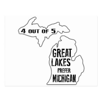 Prefer Michigan Postcard