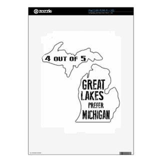 Prefer Michigan iPad 2 Skin