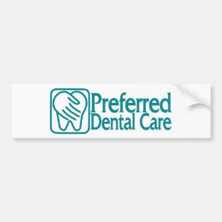 Preferred Dental Care Car Bumper Sticker
