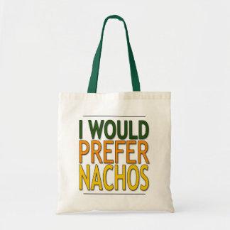 Prefiera el bolso de los Nachos Bolsas