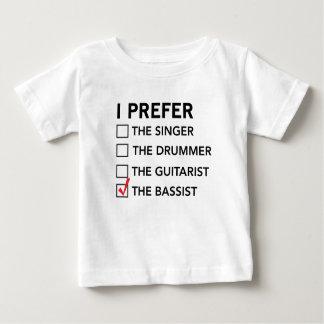Prefiero… al bajista playera