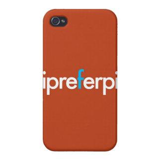"""""""Prefiero el pi """" iPhone 4/4S Carcasas"""
