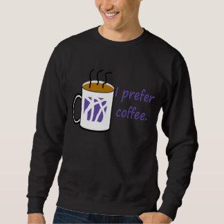 Prefiero la camisa del café