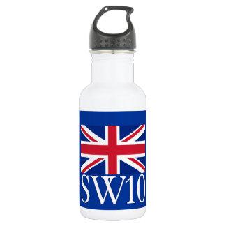 Prefijo postal SW10 de Londres con Union Jack
