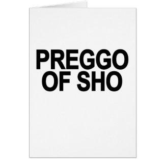 preggo fo sho T-Shirt png Greeting Card