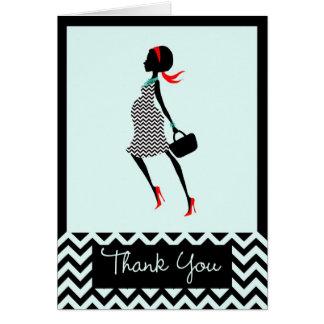 Preggo Thank You Card