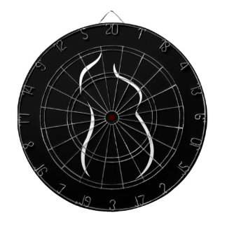 Pregnancy abstract drawing dartboard