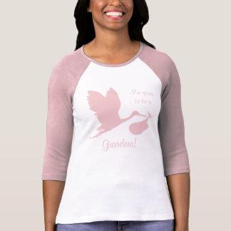 Pregnancy Annoucement for Grandma T-shirts