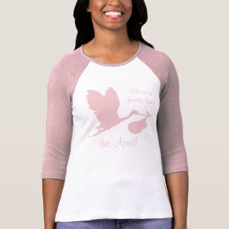 Pregnancy Annoucement for Mom T-Shirt
