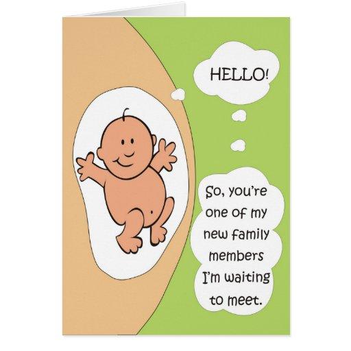 Pregnancy Announcement Greeting Card Zazzle