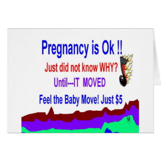 Pregnancy Announcement Special Greeting Cards