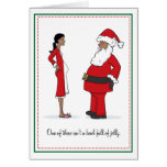 Pregnancy Christmas Cards - African American