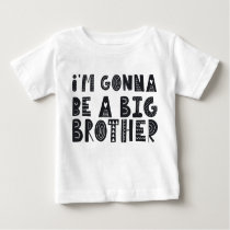Pregnancy: I'm gonna be a piglet brother Baby T-Shirt