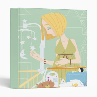 Pregnancy Journal Notebook 3 Ring Binder
