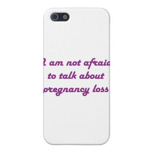 Pregnancy Loss - Purple Cases For iPhone 5