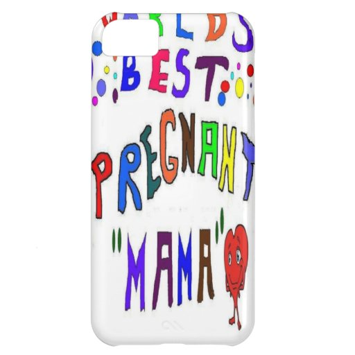 Pregnancy Mama iPhone 5C Covers