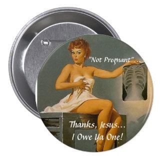 Pregnancy Scare 3 Inch Round Button