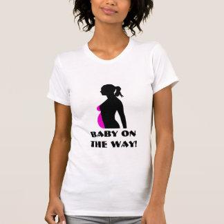 Pregnancy Silhouette Design Tshirt