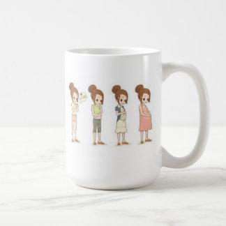 Pregnancy Trimesters Coffee Mug