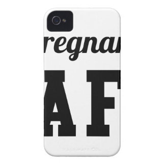 Pregnant AF iPhone 4 Cover