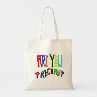 Pregnant and Pregnancy Tote Bag