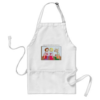 Pregnant Cow Funny Cards Mugs Tees & Gifts Adult Apron