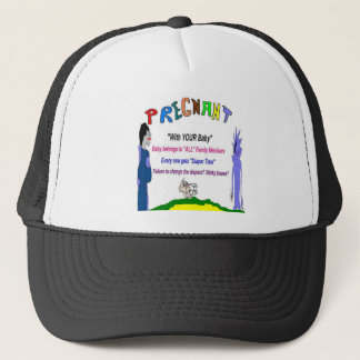 Pregnant Diaper Changers Trucker Hat