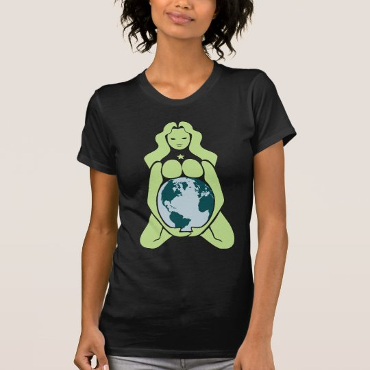 Pregnant Earth Goddess T-Shirt