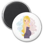 Pregnant girl or boy magnets