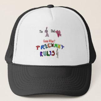 Pregnant Guess Trucker Hat