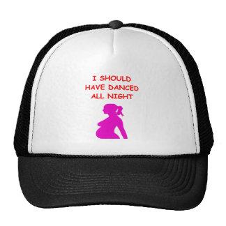 pregnant trucker hat