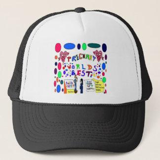 Pregnant Mama Trucker Hat