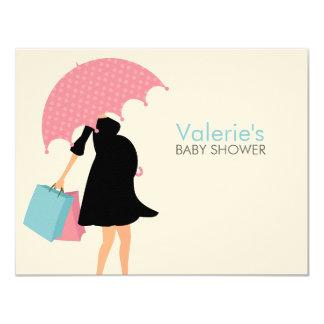 Pregnant Mom Baby Shower Mom Advice Cards