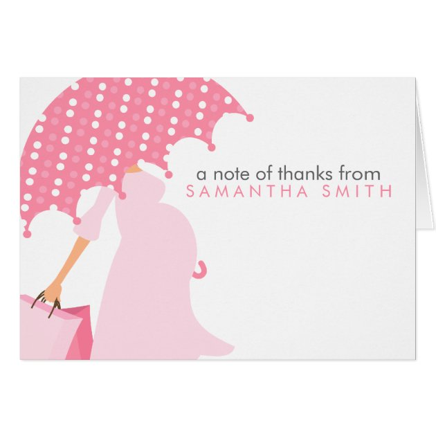 Baby Shower Thank You Note Cards | Zazzle