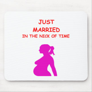 PREGNANT MOUSE PAD