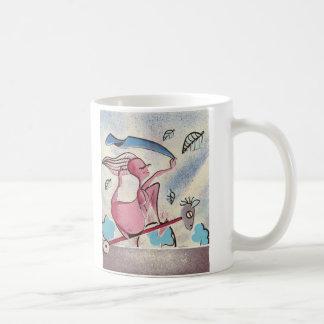pregnant classic white coffee mug
