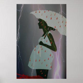 Pregnant Storm Poster