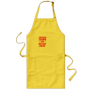 Pregnant Teens for Palin Apron