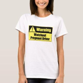 Pregnant Warning Sign Spaghetti Top