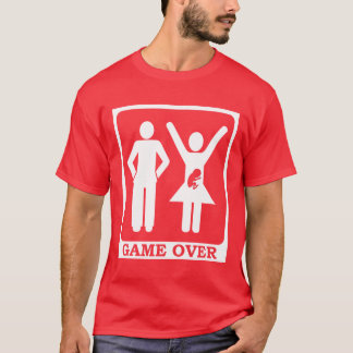 Pregnant Wife - Game Over T-Shirt