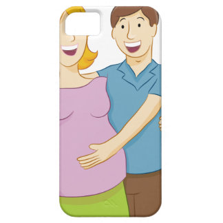 Pregnant Wife iPhone SE/5/5s Case