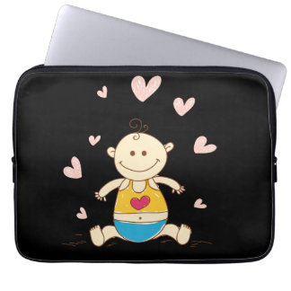 pregnant woman baby bump laptop computer sleeves