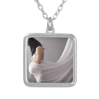 pregnant woman blessings custom necklace