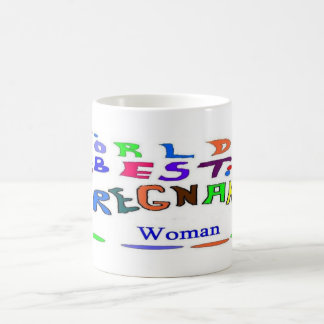 Pregnant Woman Classic White Coffee Mug