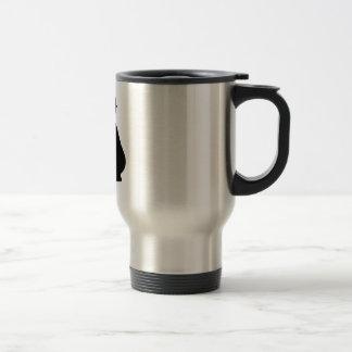 Pregnant Woman 15 Oz Stainless Steel Travel Mug